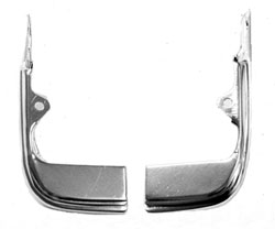 MOLDING, 68 CHEVELLE/ EL CAMINO LOWER OUTER GRILL EXTENTSION