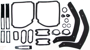 PAINT SEAL KIT, 69 CHEVELLE SS