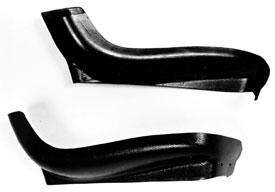 SEAT SIDES, 69-72 CHEVELLE AND EL CAMINO BUCKET BLACK - PR