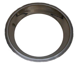 TRIM RINGS, 15X7 STAINLESS STEEL SET OF 4 - REPRO