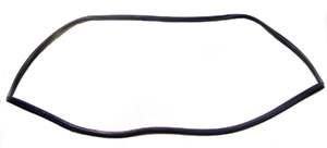 WEATHERSTRIP, 62-64 NOVA SEDAN BACK GLASS