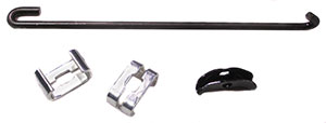 PARKING BRAKE ROD KIT, 67-69 CAMARO