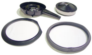 AIR CLEANER, 70-72 COWL INDUCTION KIT