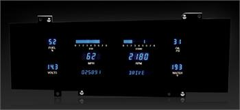 GAUGES, 78-88 OLDSMOBILE CUTLASS DAKOTA DIGITAL VFD (DOES NOT INCLUDE BEZEL)
