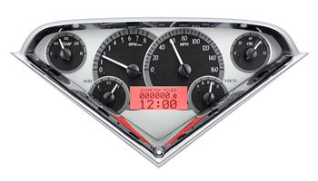 GAUGES, 55-59 CHEVY TRUCK DAKOTA DIGITAL VHX