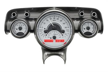 GAUGES, 57 CHEVY DAKOTA DIGITAL VHX (DOES NOT INCLUDE BEZEL)