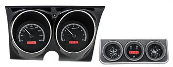 GAUGES, 67 CAMARO/FIREBIRD DAKOTA DIGITAL VHX WITH CONSOLE (DOES NOT INCLUDE BEZELS)