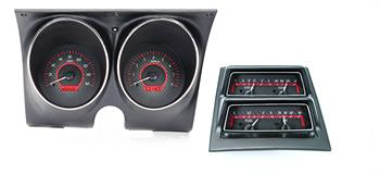 GAUGES, 68 CAMARO/FIREBIRD DAKOTA DIGITAL VHX WITH CONSOLE (DOES NOT INCLUDE BEZELS)