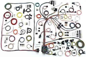 1968-1972 Pontiac GTO American Autowire Classic Update Harness Kit