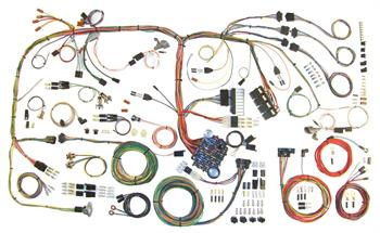 HARNESS KITS, 70-74 CUDA CHALLENGER AMERICAN AUTOWIRE CLASSIC UPDATE