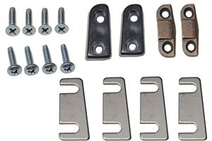 WEDGE KIT, 67-69 CAMARO/65-68 CHEVELLE CONVERTIBLE DOOR ALIGNMENT