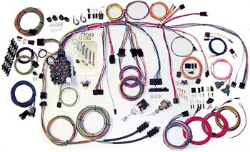 1960-1966 Chevy Truck American Autowire Classic Update Harness Kit