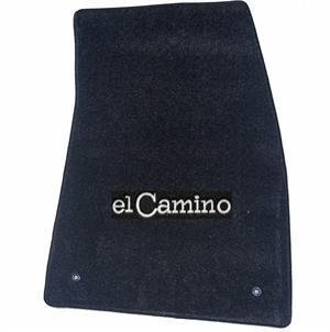 Custom Floor Mats, 59-87 El Camino - 2 Piece Set