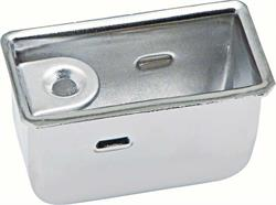 TRAY, 68-69 CAMARO DELUXE OR CONVERTIBLE REAR ASH TRAY INSERT EACH