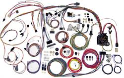 1970-1972 Chevelle El Camino American Autowire Classic Update Harness Kit