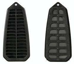 LOUVER, 67-69 CAMARO DOOR JAMB VENT GRILL  WITH FILTER - EACH