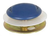 BUMPER, 68-69 CAMARO, FIREBIRD FRONT DOOR WINDOW GLASS STOP