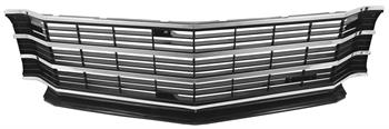 GRILL, 72 CHEVELLE/EL CAMINO - WITH MOLDING-REPRO