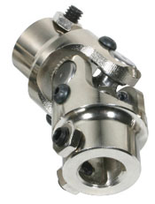 U-JOINT, STEERING 3/4-36 X 3/4DD - CHROME
