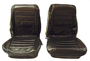 SEAT COVERS,  65 CHEVELLE FRONT & REAR