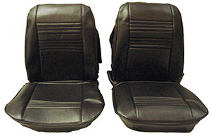 SEAT COVERS,  67 CHEVELLE FRONT & REAR