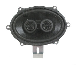 SPEAKER, 67-69 CAMARO AND 64-65 CHEVELLE / EL CAMINO - W/ AC DUAL VOICE COIL 140 WATT