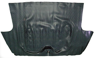 TRUNK MAT, 67-69 CAMARO MOLDED