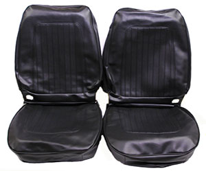 SEAT COVER, 67 CAMARO STANDARD  FRONT BUCKETS & REAR