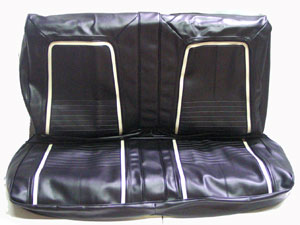 SEAT COVER, 67 CAMARO DELUXE REAR