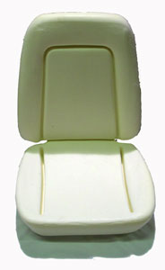 SEAT FOAM, 69 CAMARO STD BUCKET - EACH