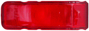LENS, 67 CAMARO STANDARD TAIL (RED)