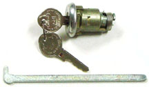 LOCK, 64-65 TRUNK WITH ORIGINAL KEY
