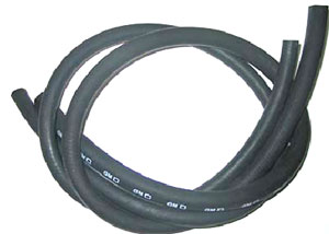 HOSE, CORRECT HEATER HOSE WITH GM MARKINGS - PAIR