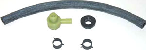 HOSE, 67-72 POWER BRAKE BOOSTER HOSE KIT - BIG BLOCK