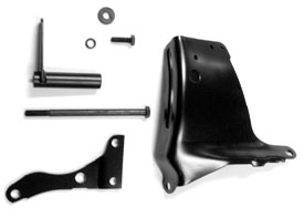 BRACKET, SMALL BLOCK ALTERNATOR KIT WITH LONG WATERPUMP